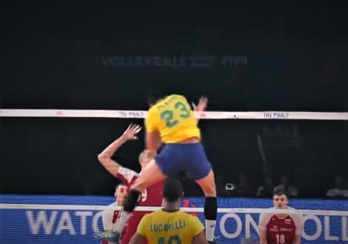 Волейбол. Техника игры в нападении
