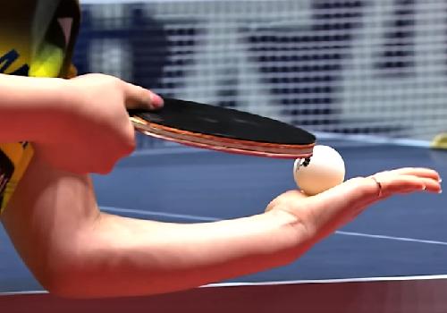 Настольный теннис. Обучение игре