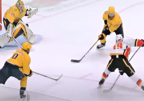 Хоккей. Техника игры в нападении