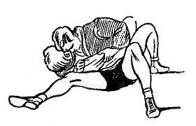Борьба самбо. Удержание сбоку