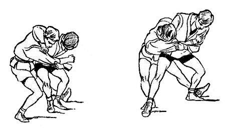 Борьба самбо. Ответный бросок против бросков, при которых противник поворачивается спиной к самбисту