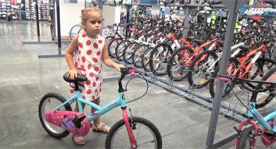 Как правильно купить детский велосипед