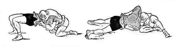 Борьба самбо. Уходы от удержания со стороны головы