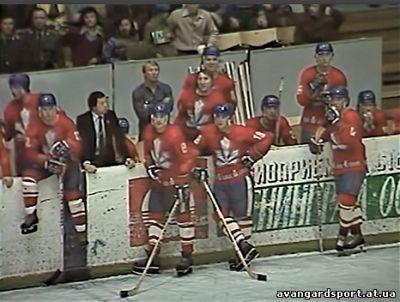 Хоккейный клуб Сокол. Игра с Спартаком в 1981 году